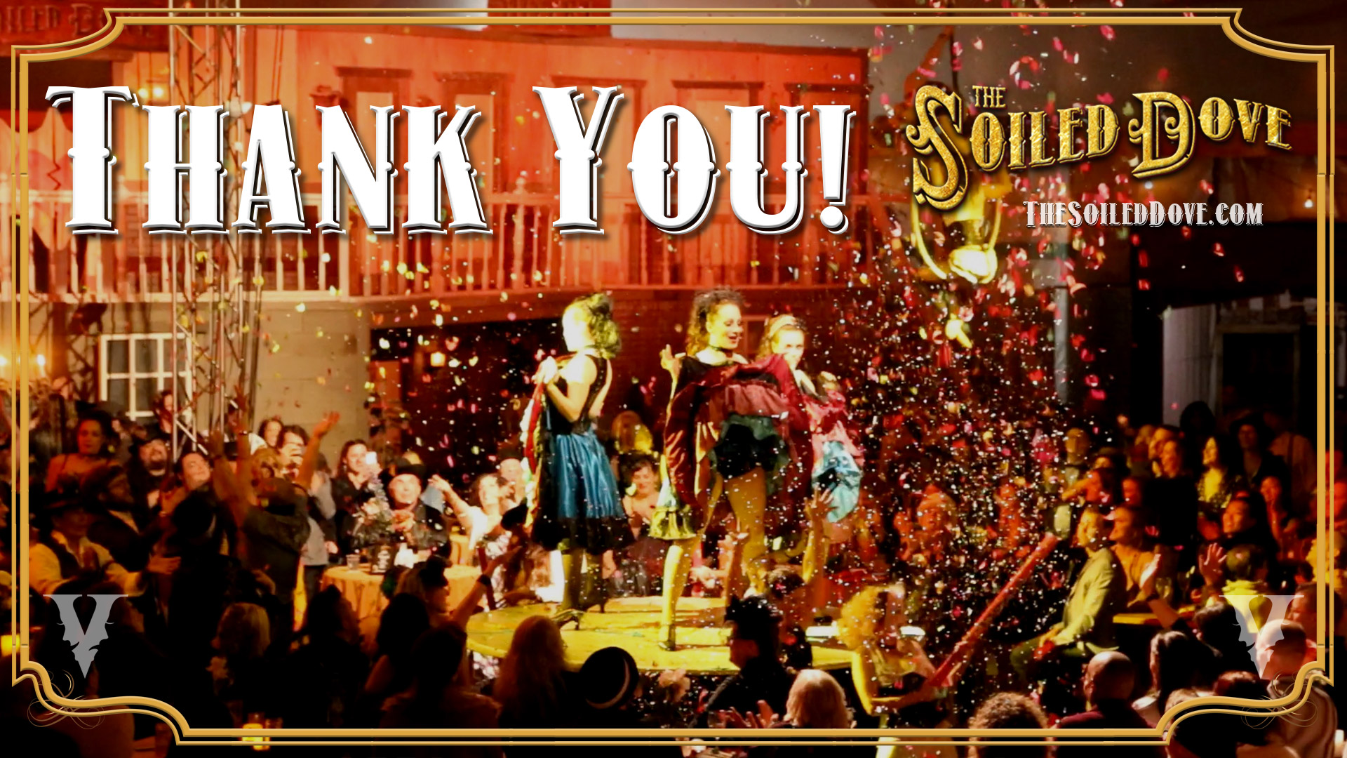 Thank you from The Soiled Dove