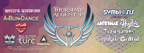 Symbiosis 2015 Pre-Party: A-Bun-Dance, August 15, 2015