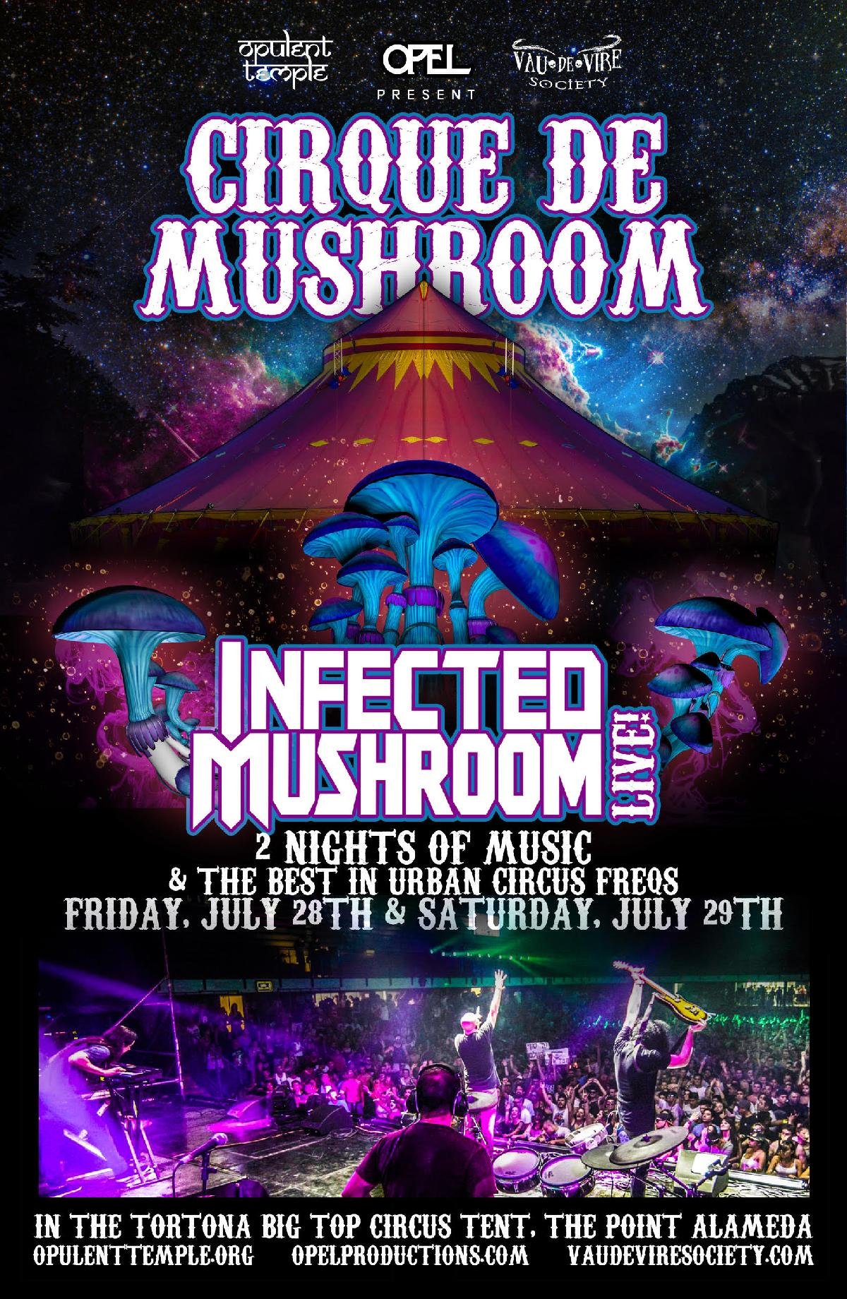 Cirque de Mushroom:  Saturday Night
