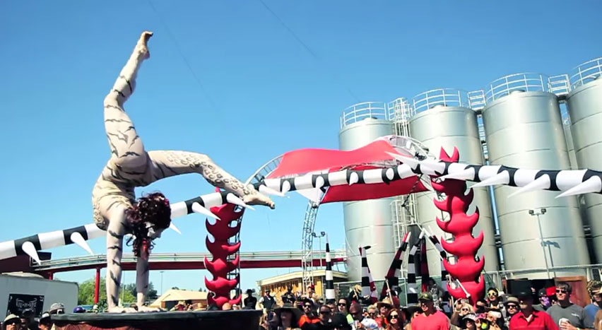 Vau de Vire Society at Lagunitas Beer Circus 2013 - Petaluma, CA