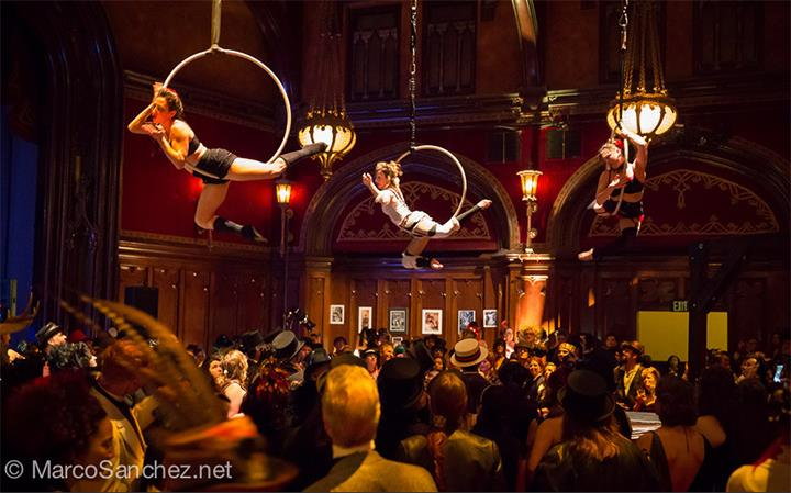 Vau de Vire Society performs The Soiled Dove - The Edwardian Ball, January 2015