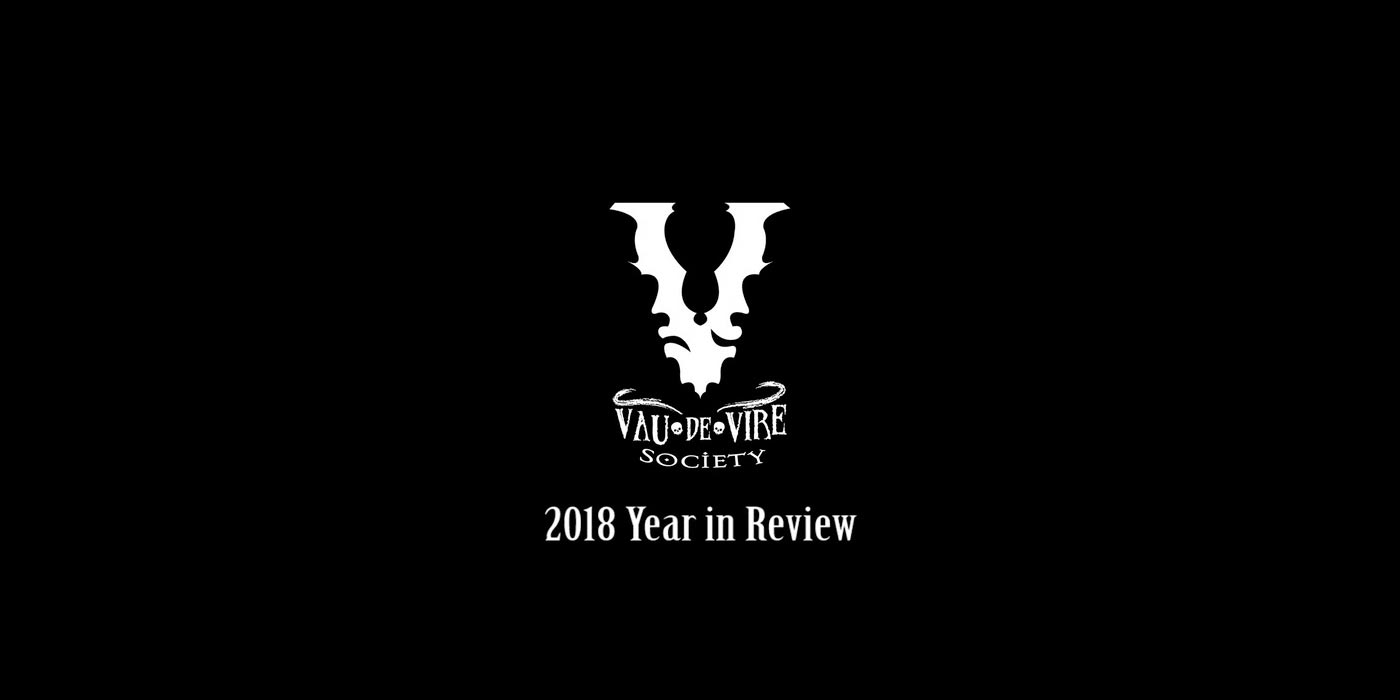Vau de Vire Society - 2018 Year in Review
