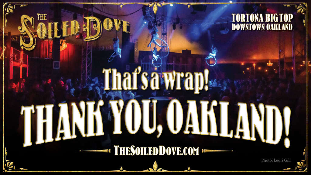 Thank you Oakland image