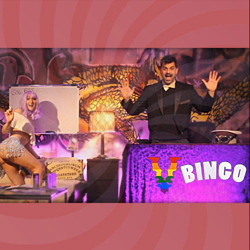 BOHEMIAN BINGO w/ Mikey the Rigger & Sveet Cheeks Cheeky Bingo with Real Prizes