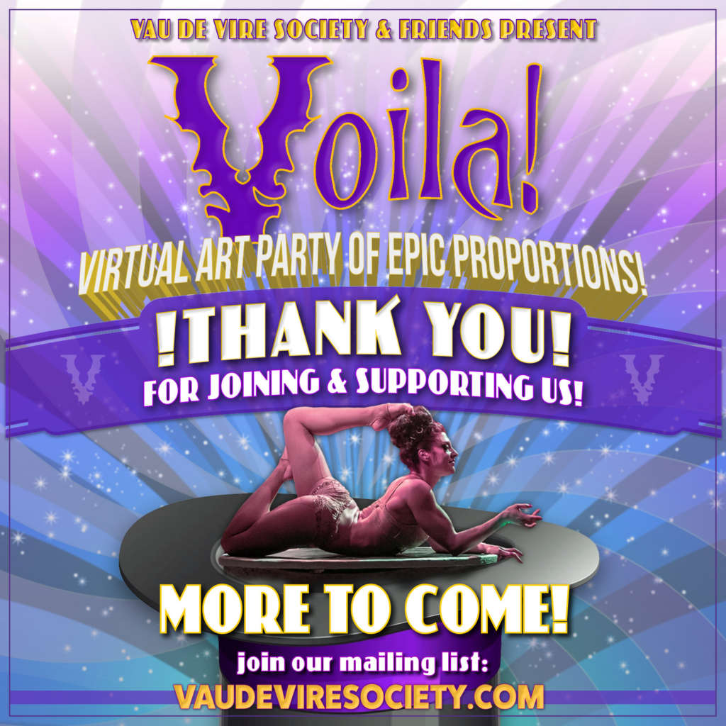 Voila! Save the Circus Benefit!