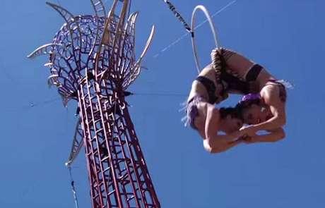 Vau de Vire Entertainment - Hypha aerial structure